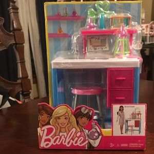 NIB Barbie Science Lab